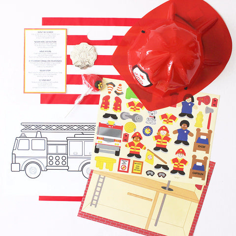 Firefighter Loot Bag