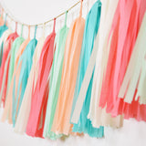 Pop-Up Colors Tassel Garland