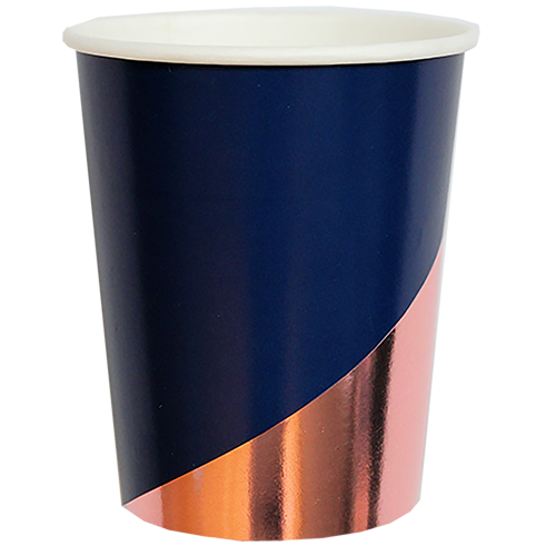 Navy Rose - ERIKA Paper Cups
