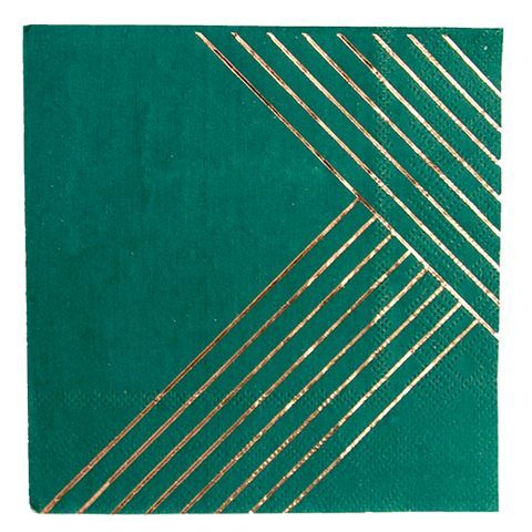 Jade - Manhattan Cocktail Paper Napkins