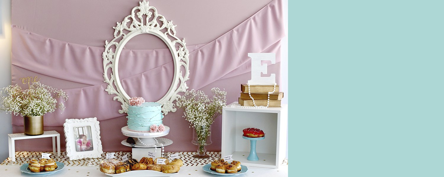 Vintage Chic Themed Birthday Party | Pop and Confetti