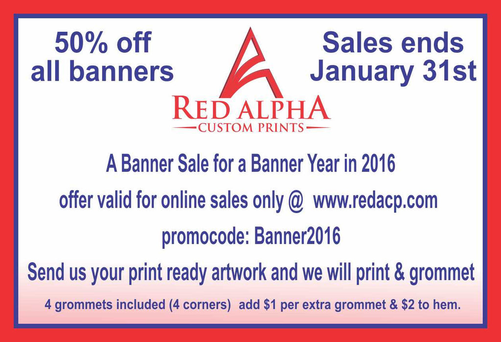 Banner Sale for a Banner Year