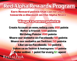 Red Alpha Rewards Program