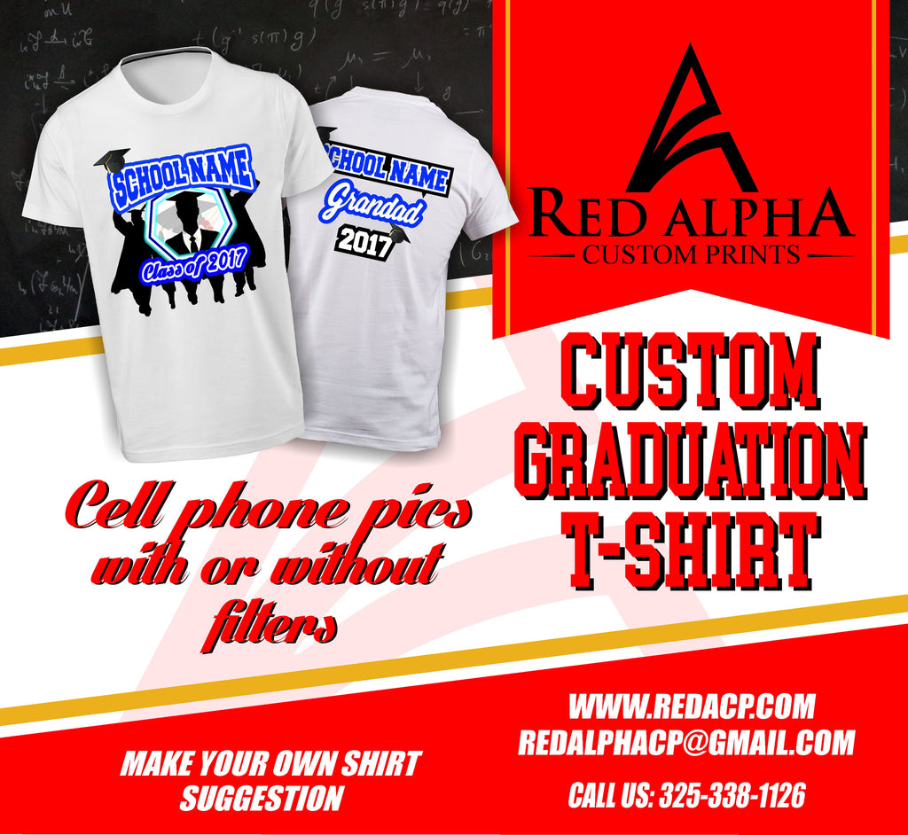 Custom Graduation T-shirts