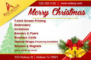 Merry Christmas from the Red Alpha Family