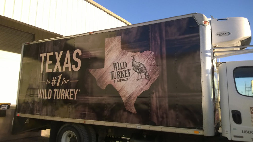 Wild Turkey Box Truck