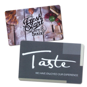 Customer Loyalty Cards.