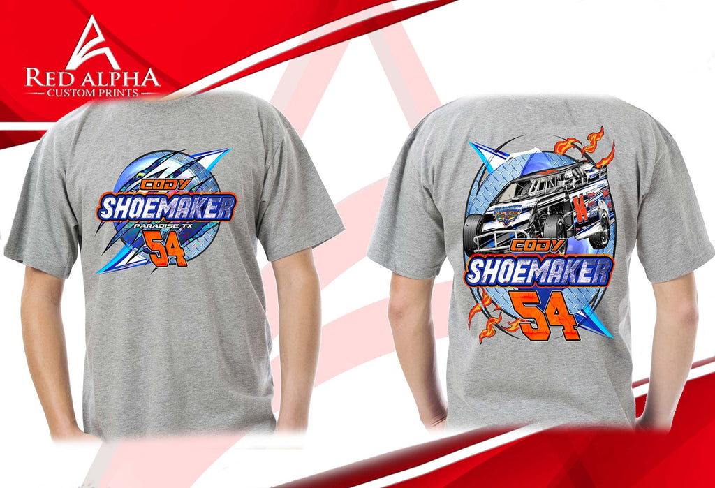 2017 Racing T-shirts and Caps for Cody Shoemaker #54