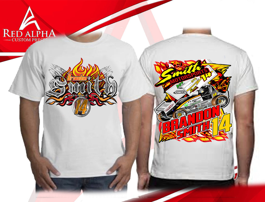Racing T-shirts and Apparel