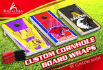 Custom Cornhole Boards-Pre-Designed.