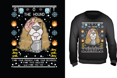 The Hound Ugly Christmas Sweater