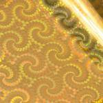Hotfoils - Couture Creations - Iridescents - Gold Spiral