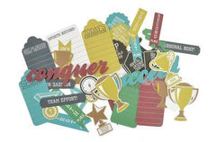Ephemera - Die Cut Pictures - Game On Awards