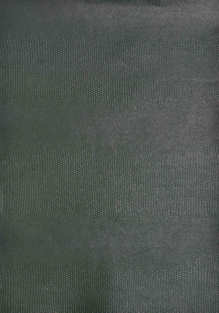 A4 - Textured Paper - Leather / Scales Dark Green