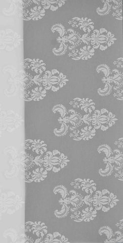 A4 - Translucent / Vellum - Patterned - Royal - White on Sheer