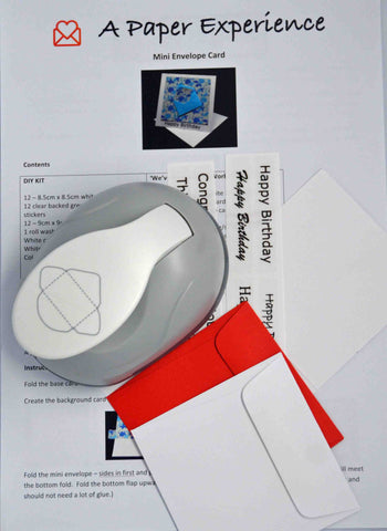 Bundles - Mini Envelope Punch & DIY Mini Card Kit