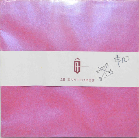 Specials - Envelopes - Square - 150mm x 150mm - Metallic Shot (Double Colour) - Fuchsia Pink / Blue