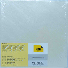 Envelopes - Square 130mm x 130mm - Metallic - click here to choose colour