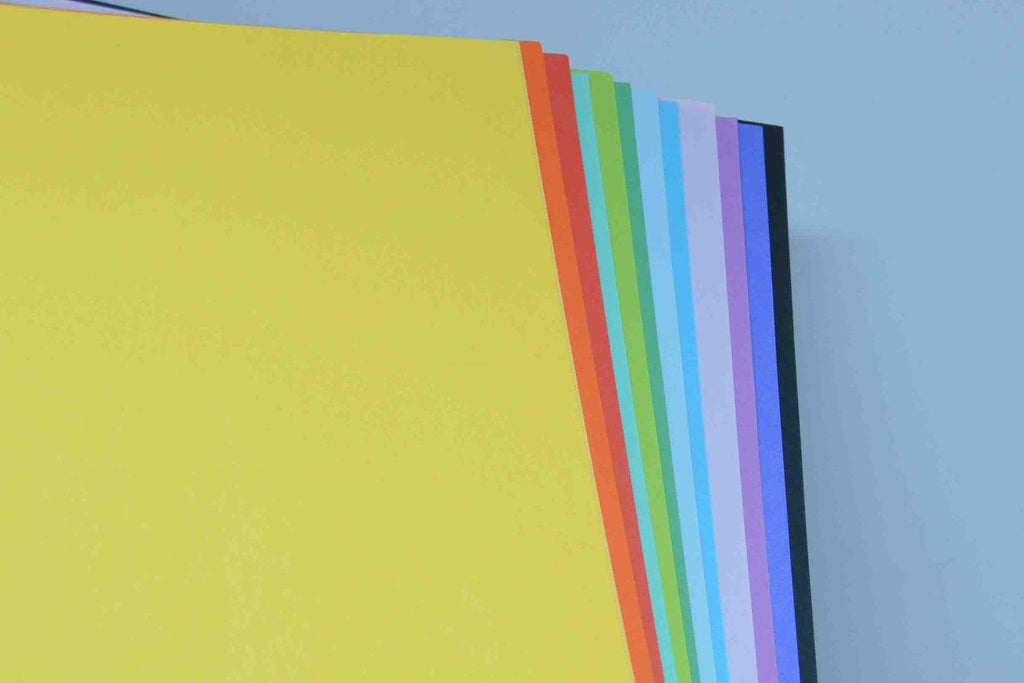 A4 - Coloured and White Papers - Optix Plain 80gsm - Click here to choose colour