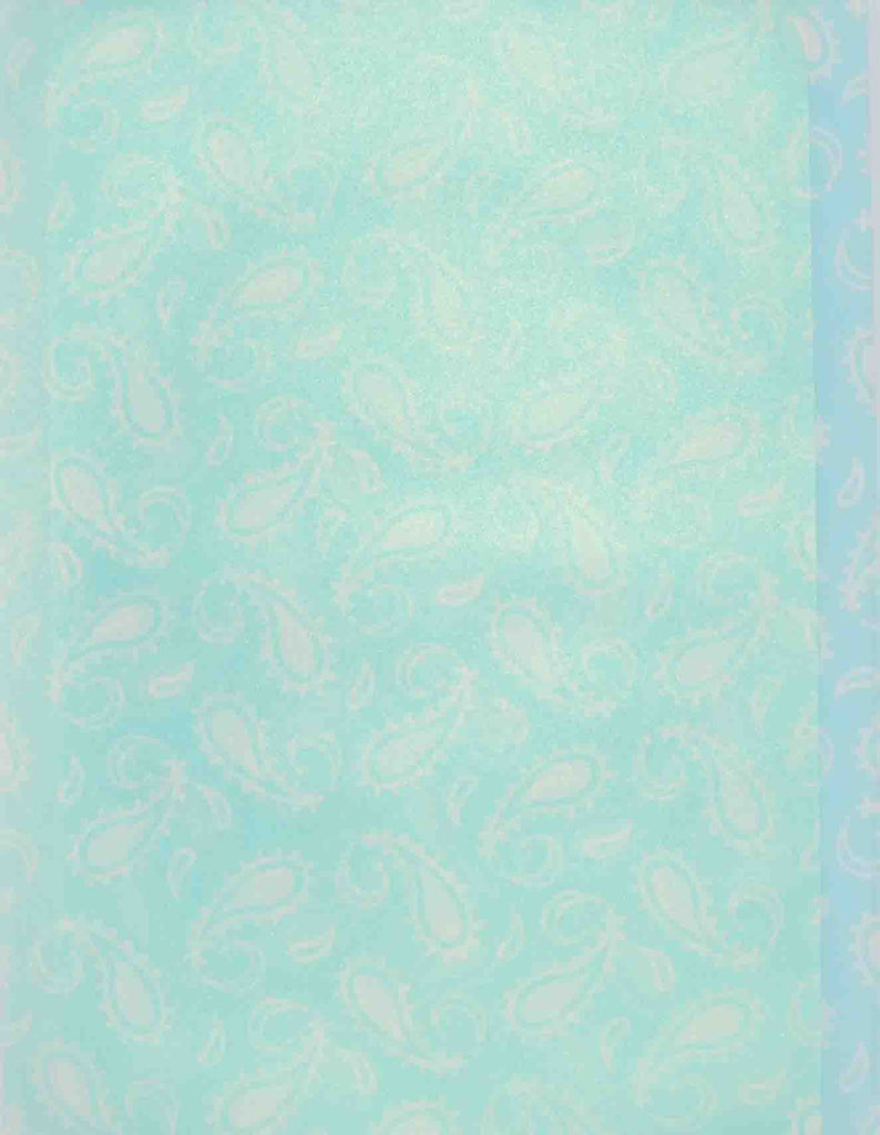 A4 - Translucent / Vellum - Patterned - Paisley - Click here to choose colour