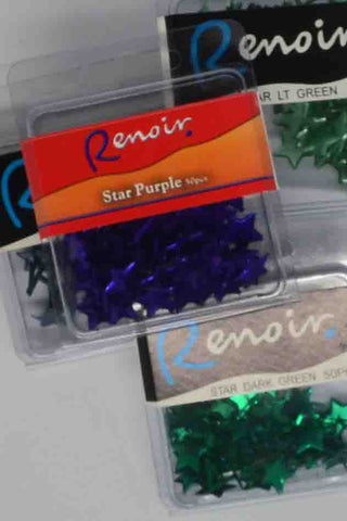 Brads - Renoir Maxi Paper Fasteners Stars - Click here to choose colour