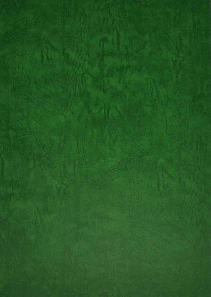 A4 - Textured Card - Elephant Skin - Green