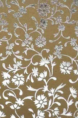 A4 - Patterned - Metallic Floral Foil - Click here to choose colour