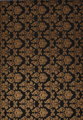 A4 - Patterned - Metallic Enchantment - Gold on Velvety Black