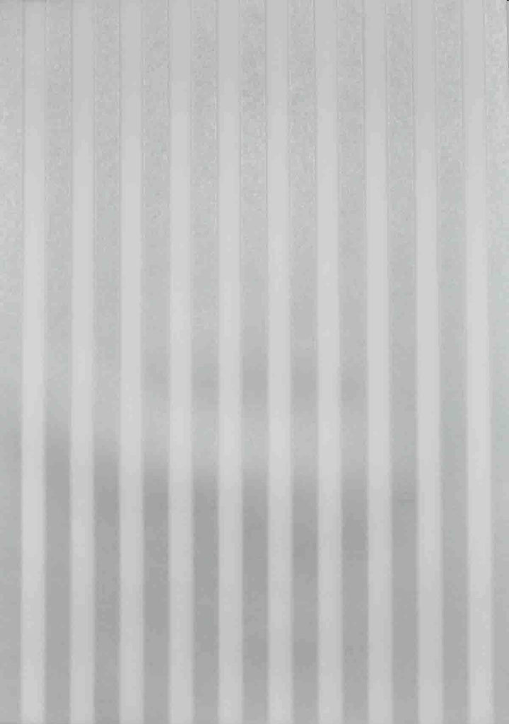 A4 - Translucent / Vellum - Patterned - Stripes - Silver and Sheer