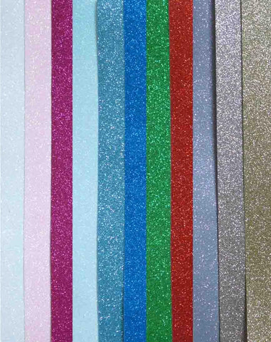 12 x 12 - Glitter Card - Click here to choose colour