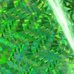 Hotfoils - Couture Creations - Iridescents - Green Triangles