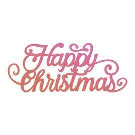 Dies - Couture Creations - Happy Christmas