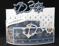 Dies - Marianne Designs Craftables - Nautical Border