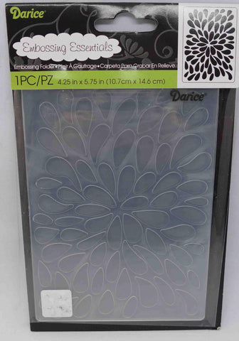 Embossing Folder - Darice - Burst Background