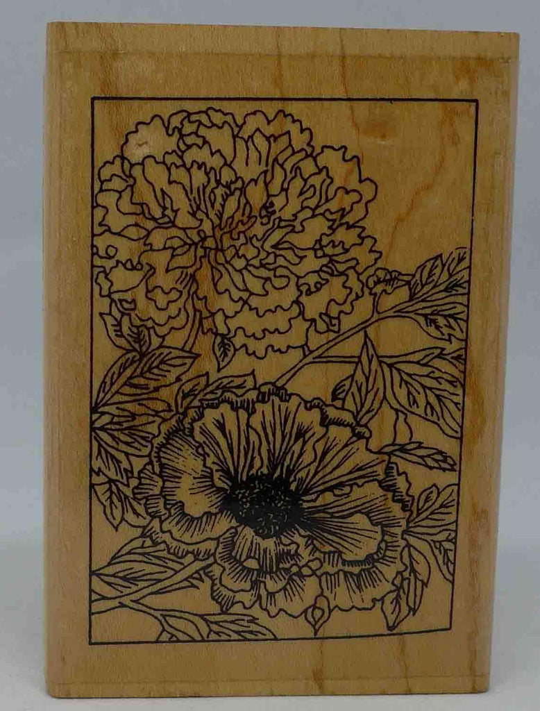Stamps - Wooden - Blooming Florals
