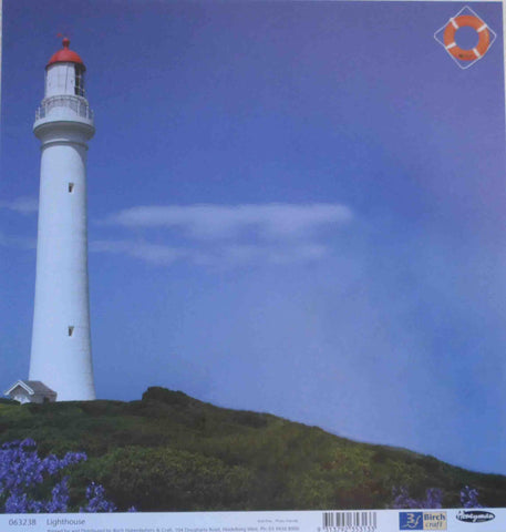 12 x 12 - Patterned - Adventure - Travel - Lighthouse
