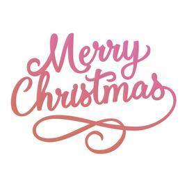 Dies - Couture Creations - Merry Christmas