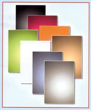 A4 - Metallic Cards - Mirror Board 250gsm - Mixed Colours