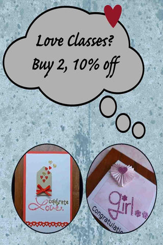 Workshop Packages - Love Classes?  Buy 2 get 10% Off