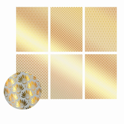 A4 - Translucent / Vellum - Foil - Gold - click here to choose design
