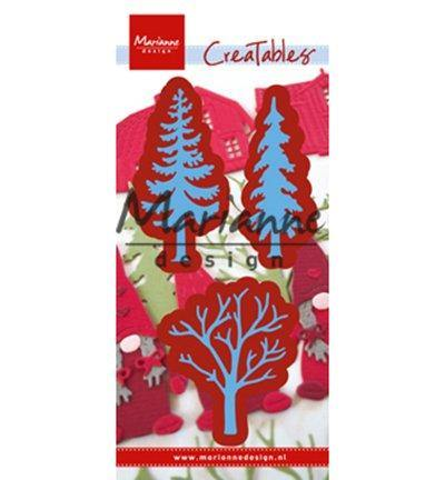 Dies - Marianne Designs Craftables - Forest Trees