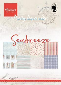 6 x 6 - Patterned - Paper Pad - Seabreeze