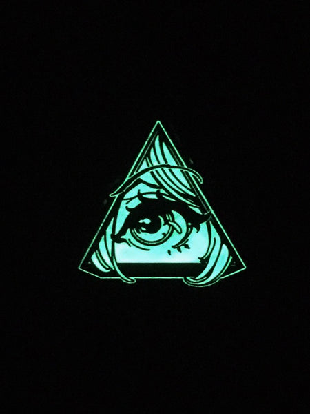 Glow in the Dark Animason Pin Badge -  Pin Badges - Invasion Club