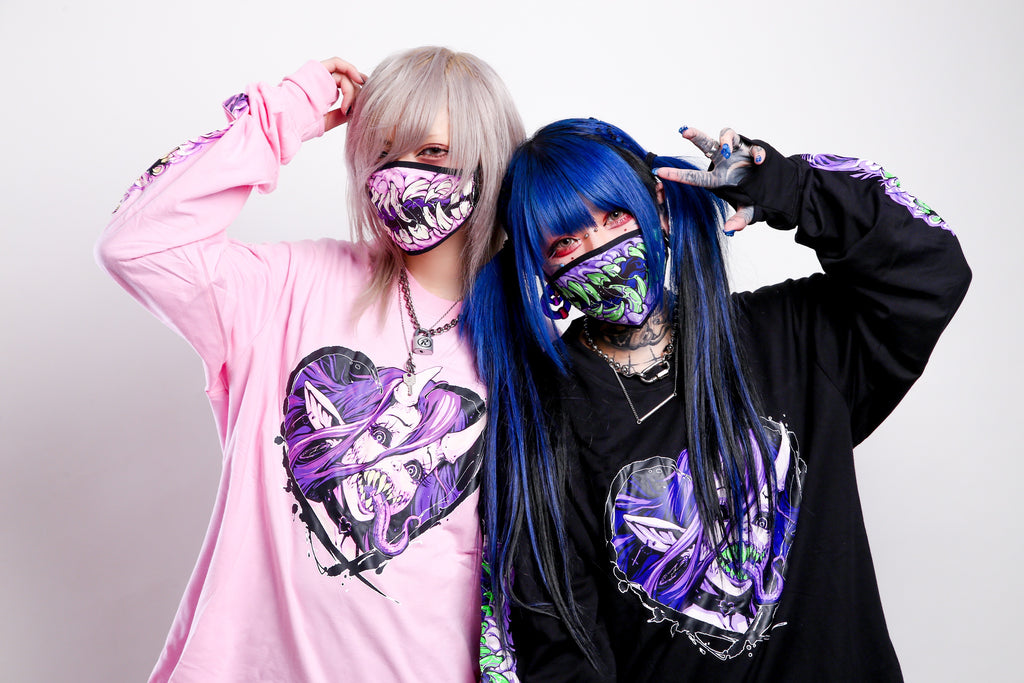 Girls And Gore Anti Virus Mask