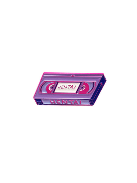 Hentai VHS Enamel Pin -  Enamel Pin - Invasion Club