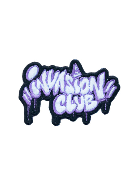 Puffy Purple Invasion Club Patch