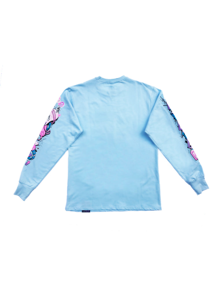 BABU BABU Long Tee Blue