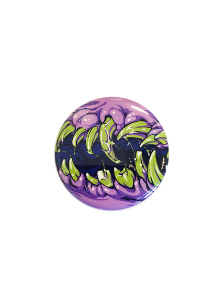 Purple Maw Button
