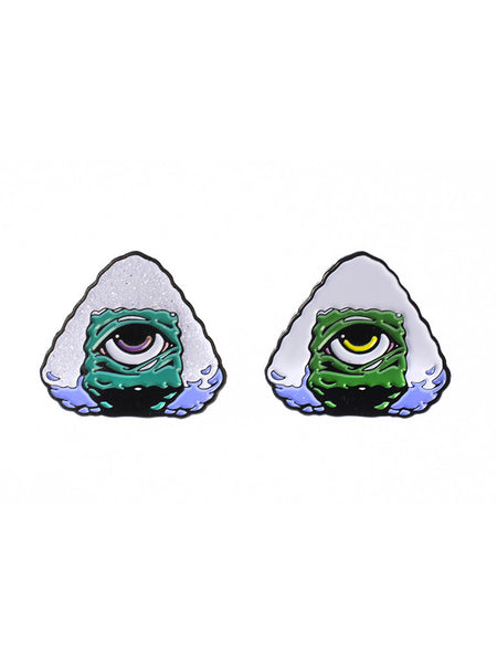 Onigiri Mason Enamel Pin -  Enamel Pin - Invasion Club