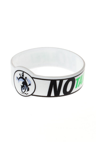 NO-taku NO Life Wristband -  Rubber Wristbands - Invasion Club